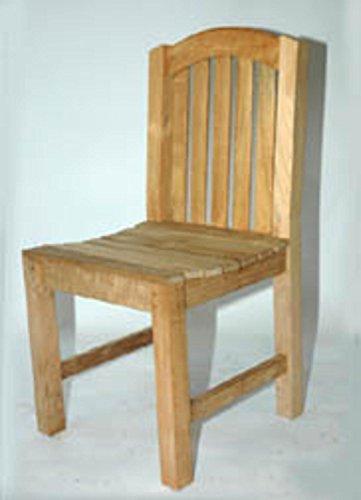 37 Natural Teak Outdoor Patio Aquinah Wooden Chair