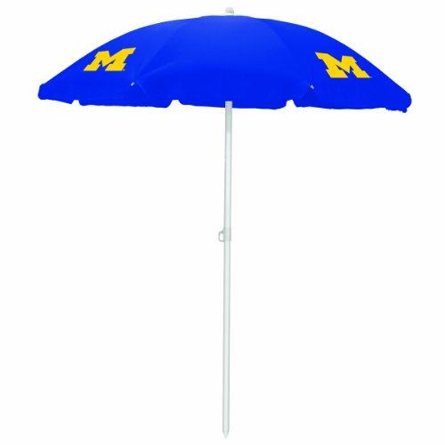 NCAA Michigan Wolverines Portable Sunshade Umbrella
