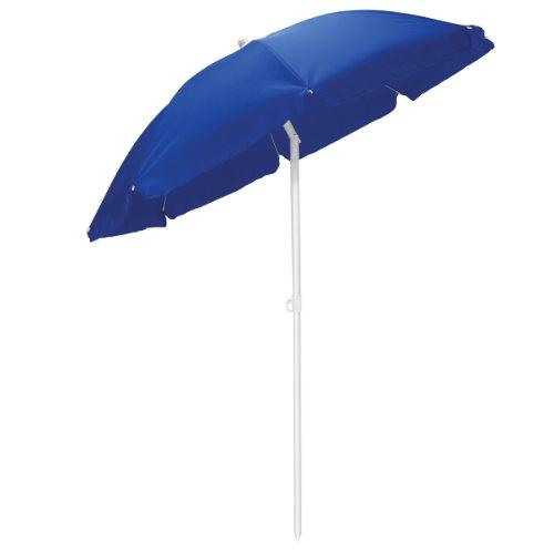 Picnic Time Outdoor Canopy Sunshade Umbrella 55 Navy