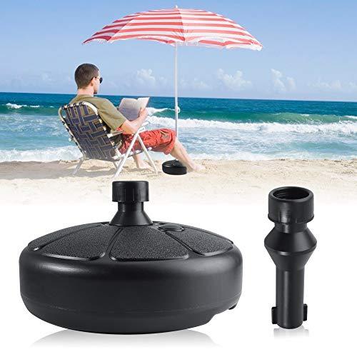 CHERRY BABY Round Shape Plastic Umbrella Base - Heavy Duty Umbrella Stand - Patio Umbrella Holder - Fillable Umbrellabase for Outdoor Sports Sundale