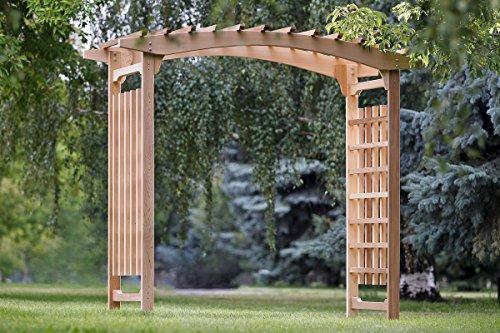 All Things Cedar Garden Wedding Arbor