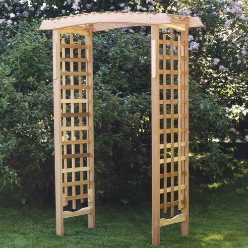 SaTaS All Things Cedar Garden Wood Arbor All Things Cedar Garden Wood Arbor
