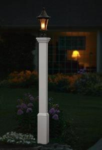 New England Arbors Madison Lamp Post