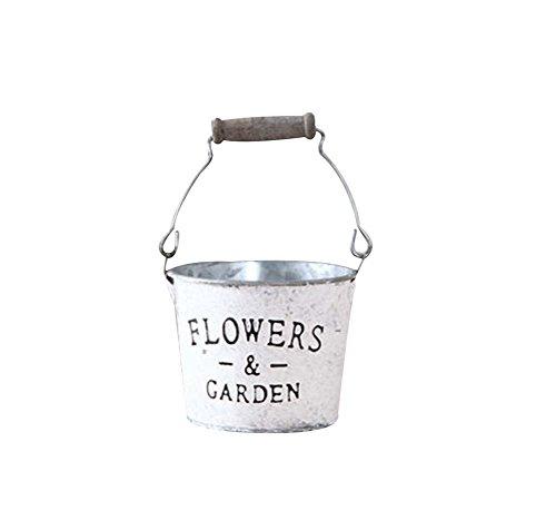 N Vintage Style Succulent Plant Iron Pots Decorative Flowerpot