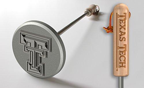 Texas Tech Branding Iron Grill Accessories