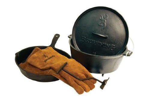 Camp Chef Browning Cast Iron Box Set