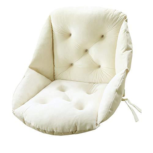 Feng Chair Nest Seat Cushion Indoor Outdoor Chair Pad Tufted Sitting Cushion Pillows Garden Sofa Armchair Wheelchair Back Chair Cushion Cover Bedroom Nursery Decor Seat PadBeigeA