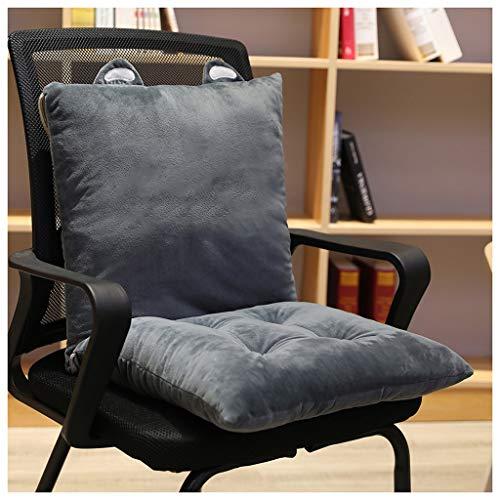 LHHL Fashion Chair Seat Cushions Indoor Outdoor Chair Pads Short Plush Sitting Cushions Pillows Garden Sofa Armchairs Wheelchair Back Chair Cushion Cover Bedroom Nursery Decor Seat Pad