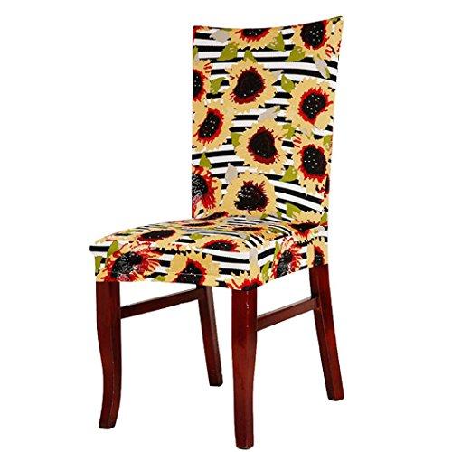 LEERYA Universal Stretch Spandex Dining Room Wedding Banquet Chair Cover I