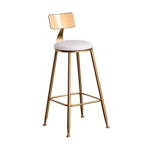 Gold Bar ChairCreative Bar Chair High Stool Household Iron Art Metal High Chair Leisure Decorative Chair 4242100CM4242100CM