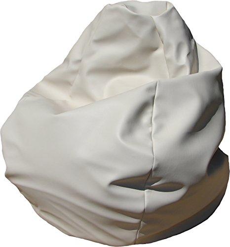 Bean Bag Boys Marine Bean Bag Chair, Premium, Ivory