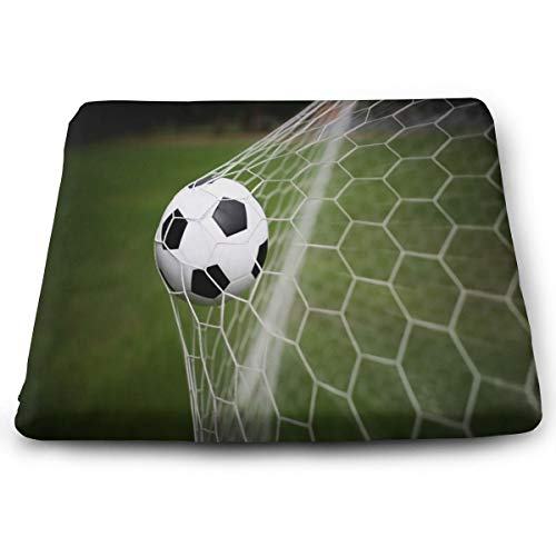 Ladninag Seat Cushion Sports Soccer Chair Cushion Vintage Offices Butt Chair Pads for Kitchens