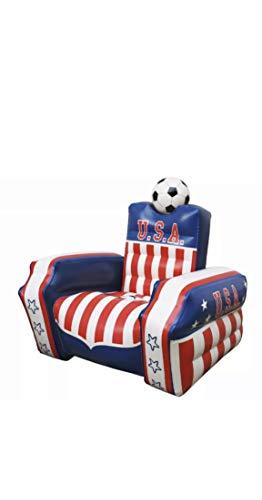USA Soccer Chair Inflatable