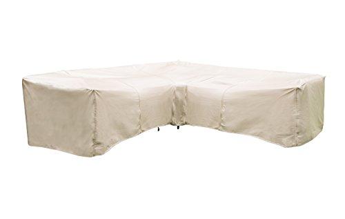 Protective Covers Inc Modular Sectional Sofa Cover Corner Piece 40 W x 40D x 32H Tan