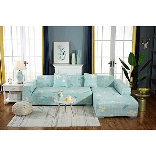 Ggtgft Sofa Cover Elastic All-Inclusive Polyester Sofa Slipcover Home Decorative 1234 Seat 4 Season Sofa Color  Sofa Cover Size  235-300 cm