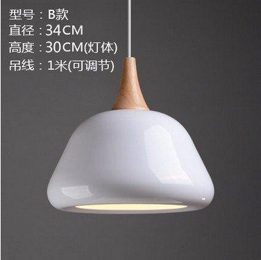 Cttsb Nordic modern individuality fashion simple table pendant light Japanese creative single head pendant light