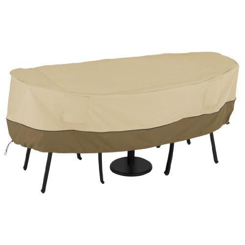Classic Accessories 55-466-021501-00 Veranda Bistro Patio Tableamp Chairs Set Cover Small