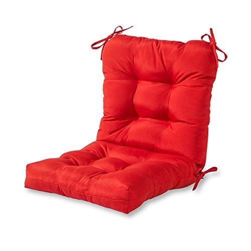 Greendale Home Fashions Indooroutdoor Seatback Chair Cushion Salsa
