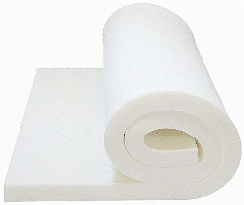 Foam Cushion 2T x33W x80L 1536 Medium Firm Sofa Seat Replacement Upholstery Sheet Foam Padding