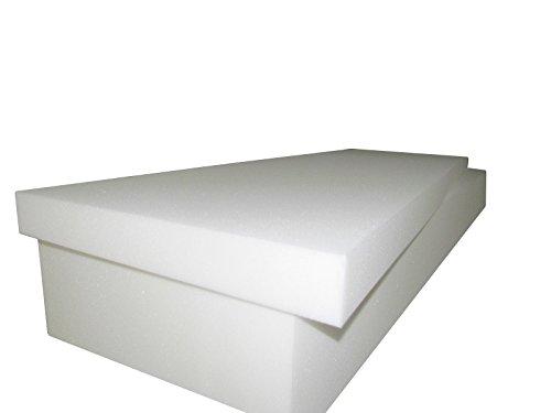Foam Cushion 4T x 36W x 80L 1536 Medium Firm Upholstery Seat ReplacementSheet FoamFoam Padding
