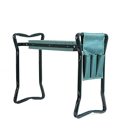 Garden Stool Kneeling Pad Gardening Seat Sit Eva Foam Cushion Kneel Chair Green