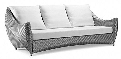 100Essentials Peak Sofa with Cushion Natural
