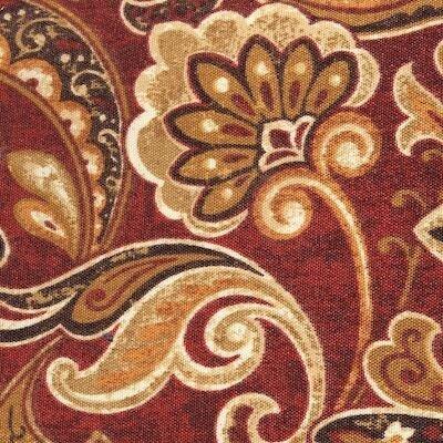 ElanaMar Designs SV3-cashel-garnet Savannah Sofa with Cushions