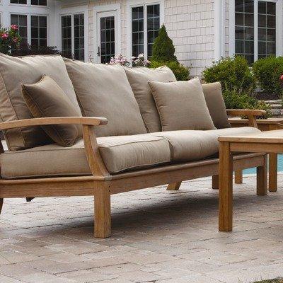 Three Birds Casual Monterey Deep Sofa with Cushions