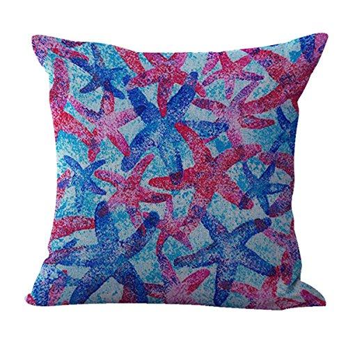 WholesaleSarong seaside nautical starfish sea stars cushion cover home decor cushion cover replacements