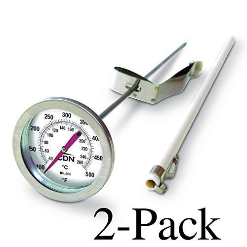 CDN IRL500 InstaRead Deep Fry Turkey Thermometer - Set of 2