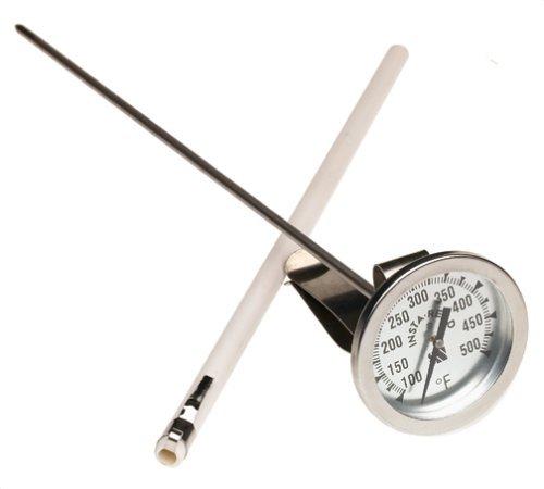 CDN IRL500 InstaRead Long Stem Deep Fry Turkey Thermometer by CDN