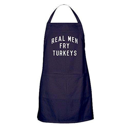 CafePress-Real Men Fry Turkeys-Baking Apron