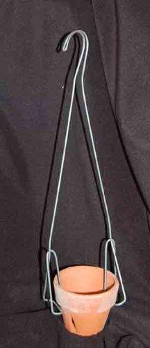 Orchid Pot Hangers 24 inches TL Double Shanks 6 Pak 6
