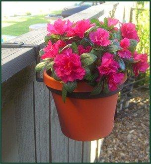 8 Diameter Flower Pot Holder - Fence Bracket
