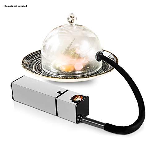 Chefhut Portable Smoke Infuser Handheld Cold Smoking Gun Indoor Mini Food Smoker for Meat Cocktail Drinks BBQ