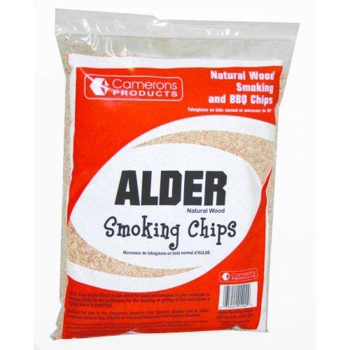 Alder Wood Smoker Chips- 100 Natural Wood Smoking And Barbecue Chips- 2 Lb Bag