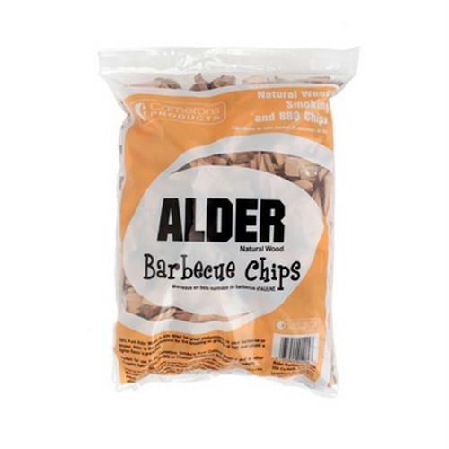 Alder Wood Smoker Chipsndash 100 All Natural Coarse Wood Smoking And Barbecue Chips- 2lb Bag