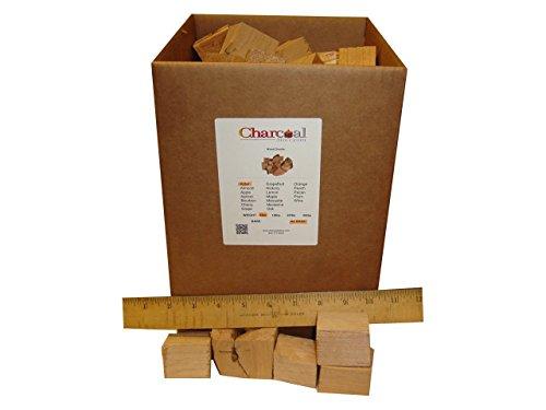 CharcoalStore Alder Smoking Wood Chunks - No Bark 5 Pounds
