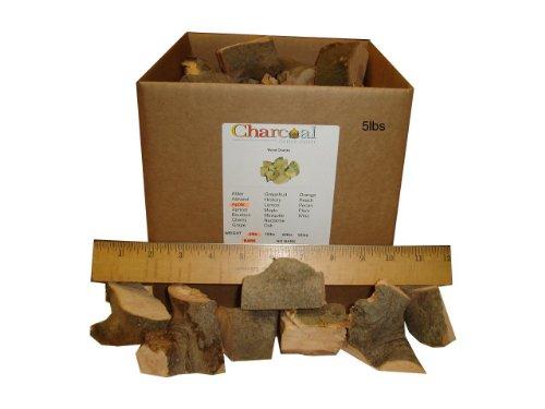 Charcoalstore Apple Smoking Wood Chunks - Bark 5 Pounds
