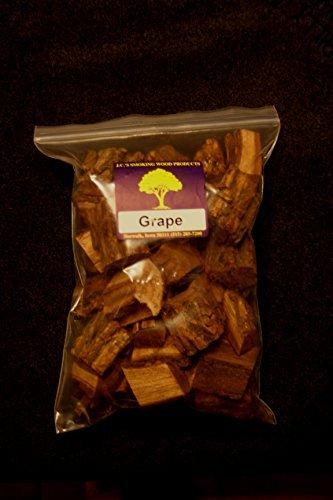 JCs Smoking Wood Chunks - Gallon Sized bag - Grape by JCs Smoking Wood Products