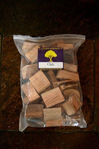 JCs Smoking Wood Chunks - Gallon Sized bag - Oak