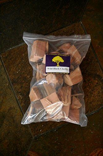 JCs Smoking Wood Chunks - Gallon Sized bag - Wild Black Cherry 2PK