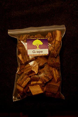 Jcs Smoking Wood Chunks - Gallon Sized Bag - Grape