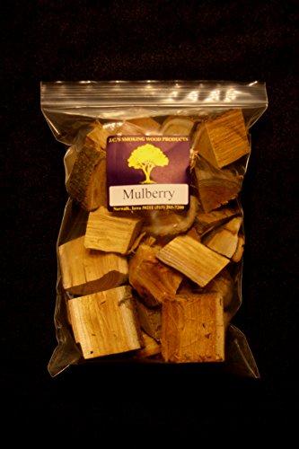 Jcs Smoking Wood Chunks - Gallon Sized Bag - Mulberry
