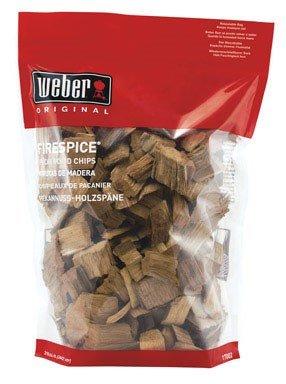 Weber 17002 3lb Pecan Wood Chip pack Of 3