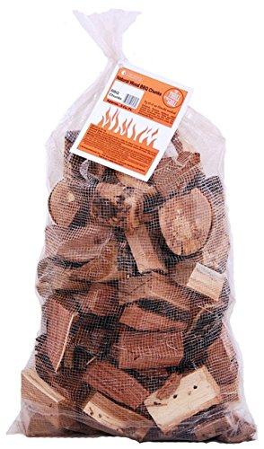 Camerons Smoking Wood Chunks Apple- Kiln Dried BBQ Large Cut Chips- 100 All Natural Barbecue Smoker Chunks- 10lb Bag