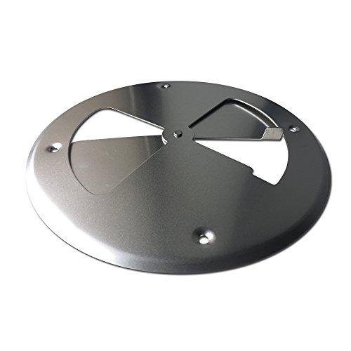 LavaLock 8 Aluminum Pinwheel BBQ Smoker Pit Intake Blade Damper Vent Set