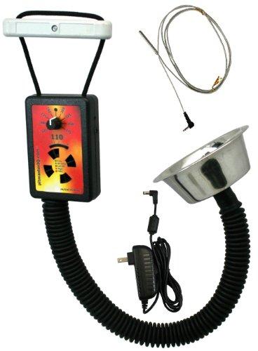 PitmasterIQ IQ110 BBQ Temperature Regulator Kit WStandard Pit Adapter For Weber Smokey Mountain Weber Kettle Many Other BBQ Smokers