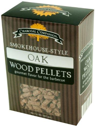 Charcoal Companion Smokehouse-Style Wood Pellets 1 lb Oak - CC6049