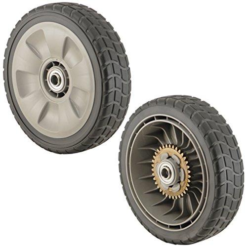 Honda 42710-ve2-m01ze Lawn Mower Rear Wheel Set Of 2